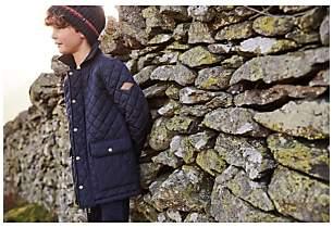 Joules Little Joule Boys' Bridgeford Quilted Jacket