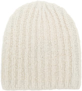 Isabel Marant flecked knitted hat - women - Polyester/Wool/Alpaca - One Size