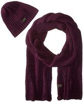 G Star Men's Originals Coper Gift Pack In Cotton Knit Dk Fig