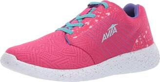 Avia Girls' Avi-Kismet Sneaker Pink 12 Medium US Little Kid