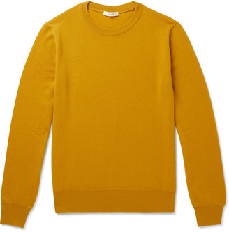 The Row Benji Cashmere Sweater - Men - Yellow