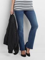 Gap Maternity full panel baby boot jeans