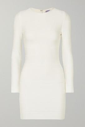 Herve Leger Bandage Mini Dress - White
