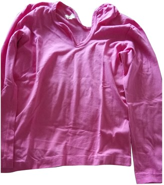 Comme des Garcons Pink Cotton Top for Women Vintage