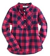 Vineyard Vines Girls' Buffalo-Check Shirt - Big Kid