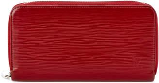 Louis Vuitton Carmine Red Epi Leather Zippy Wallet