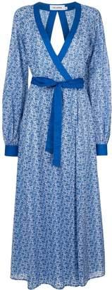 The Upside patterned wrap dress