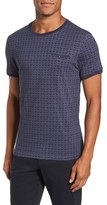 Ted Baker Men's Hillman Print Pocket T-Shirt