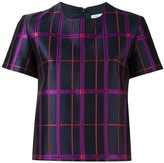 Carven checked T-shirt