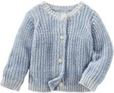 Osh Kosh Baby Girl Marled Knit Cardigan