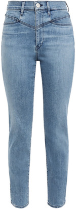 3x1 Jesse Faded High-rise Straight-leg Jeans