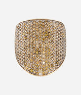 Henri Bendel Luxe Elements Truth Pave Ring