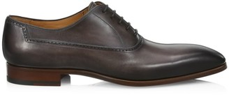 Saks Fifth Avenue COLLECTION Burnished Leather Brogues
