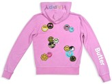 Butter Shoes Girls' Happy Patches Hoodie