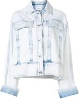 Joslin Florentine acid-wash jacket