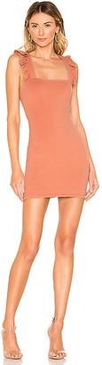 superdown Imari Ruffle Strap Dress