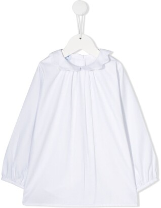 Siola wavy peter pan collar blouse