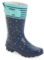 Western Chief Girl's Dazzling Dots Rain Boot
