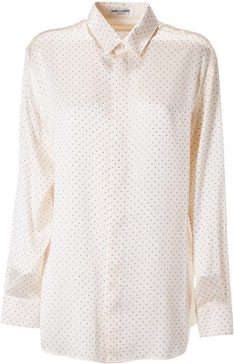 Saint Laurent All-over Dot Shirt