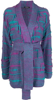 Canessa Fringed Cashmere-Blend Cardigan