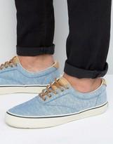 Sperry Striper Linen Sneakers