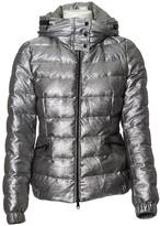 Moncler Hood Silver Polyester Coats