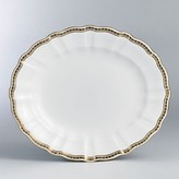 Carlton Royal Crown Derby Gold Oval Platter, 13