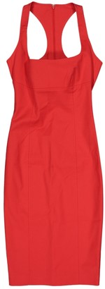 DSQUARED2 Red Cotton Dresses