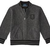 Ralph Lauren Cotton Terry Baseball Jacket