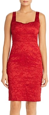 Elie Tahari Femi Sleeveless Brocade Sheath Dress