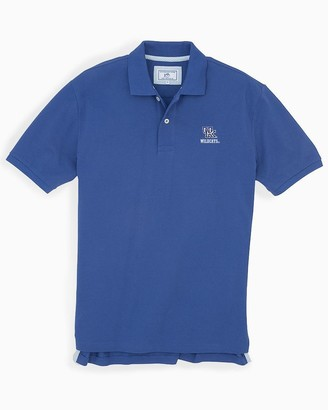 Southern Tide Kentucky Wildcats Pique Polo Shirt