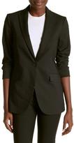 Anne Klein Pinstripe Blazer Jacket