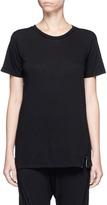 Bassike Slim vintage neck organic cotton T-shirt