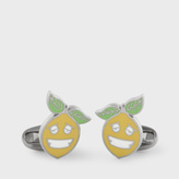Paul Smith Men's 'Happy Lemon' Cufflinks