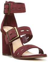 Fergie ?Fame Cutout Suede High-Heel Sandals