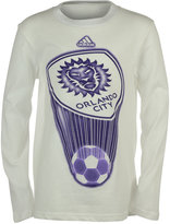 adidas Boys' Long-Sleeve Orlando City SC Translucent T-Shirt