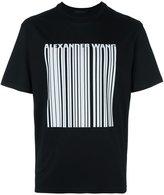 Alexander Wang logo barcode T-shirt