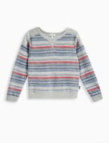 Splendid Little Boy Reverse Print Brushed French Terry Top