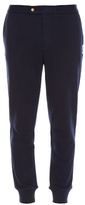 Moncler Gamme Bleu Relaxed cotton track pants