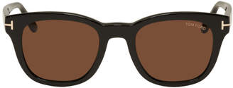 Tom Ford Black Eugenio Sunglasses