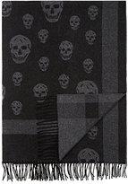 Alexander McQueen Skull Wool-Cashmere Throw
