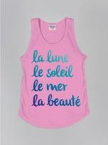 Junk Food Clothing Kids Girls La Lune Tank-kiss-l