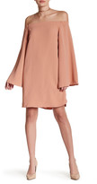 Do & Be Do + Be Bell Sleeve Off Shoulder Dress