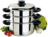 Camilla And Marc Baumalu - 342640 - Stainless Steel Steamer pot 3 parts 20 cm