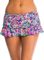Kenneth Cole Reaction Don't Mesh with Me Rouched Skirted Bottom 8139382