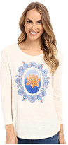 Lucky Brand Multicolor Lotus Tee