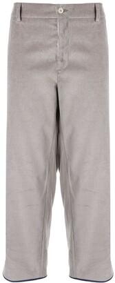Jejia Claire velvet trousers