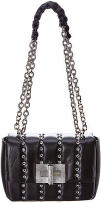 Tom Ford Natalia Small Disco Quilted Crystal Leather Shoulder Bag