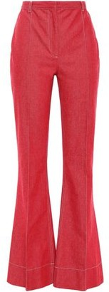 Philosophy di Lorenzo Serafini High-rise Denim Flared Pants