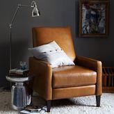 west elm Sedgwick Leather Recliner